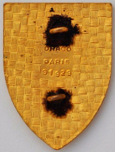 Аверс и реверс знака 76-го пехотного полка.