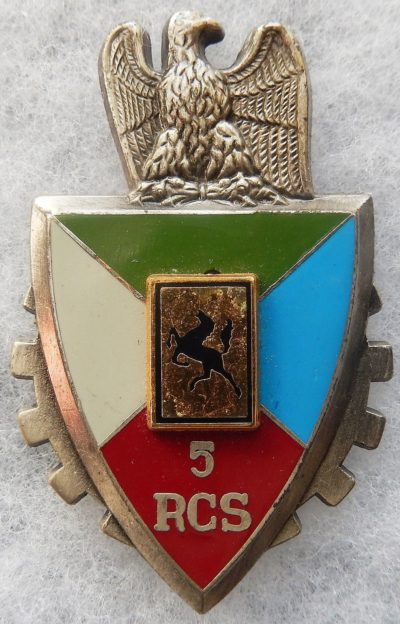 Знак 5-го полка командования и поддержки.