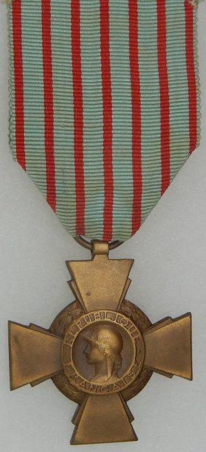 Аверс и реверс креста Бойца.
