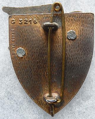 Знаки 7-го артиллерийского полка.
