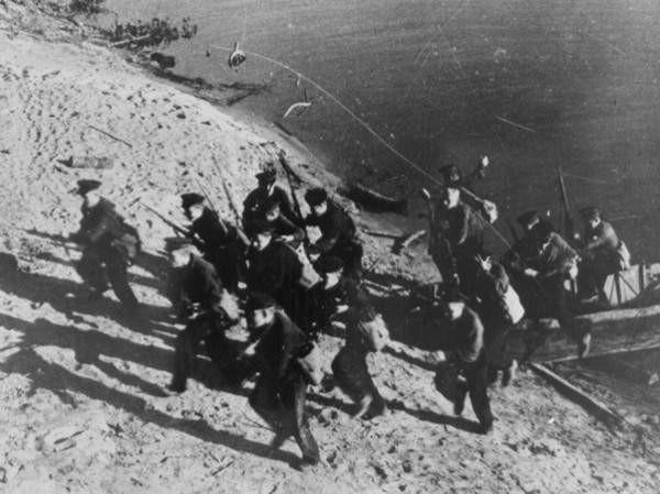 Высадка десанта в Стеллецкой бухте. Май 1944 г.