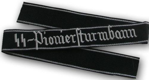 Манжетная лента саперных подразделений СС «Pioniersturmbann».