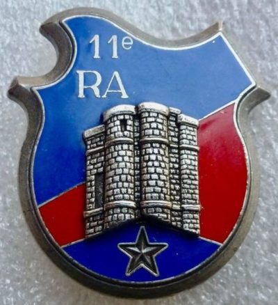 Знак 11-го артиллерийского полка.