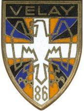 Знак 86-го пехотного полка.