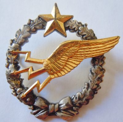 Знак пилота-радиста ВВС.