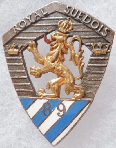 Аверс и реверс знака 89-го пехотного полка.