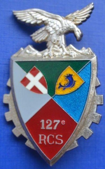 Знак 127-го полка командования и поддержки.