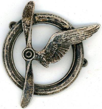 Знак члена экипажа самолета.