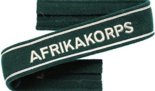Манжетные ленты «AFRIKAKORPS».