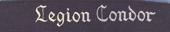 Манжетная лента Легиона «Кондор».