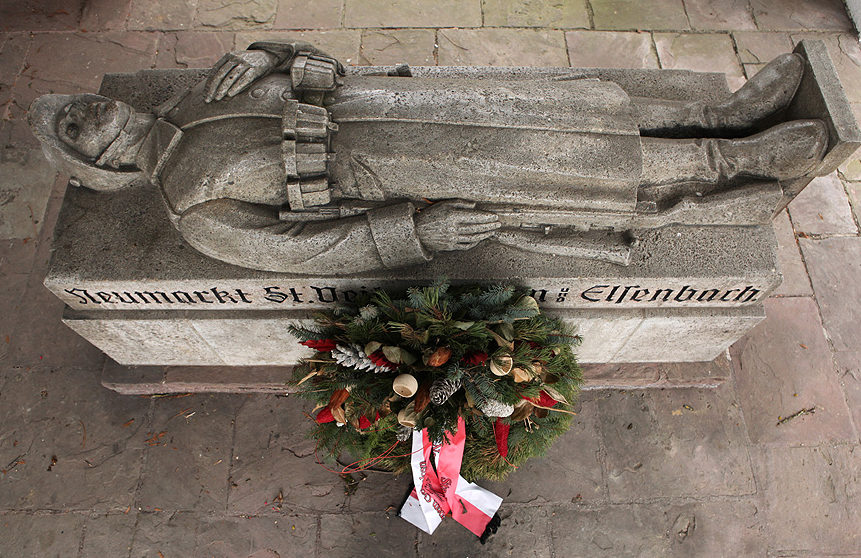 г. Ноймаркт-Санкт-Файт. Мемориал павшим немецким солдатам.
