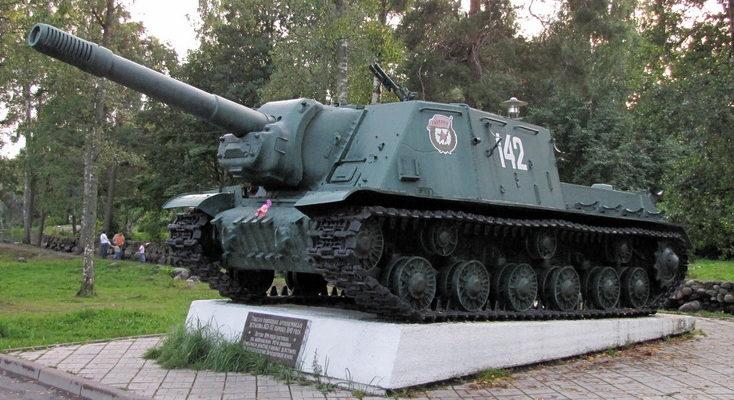 Памятник-САУ ИСУ-152.