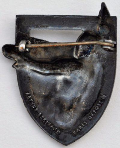 Аверс и реверс знака 95-го пехотного полка.