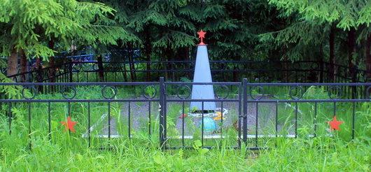 д. Чудской Бор Тосненского р-на. Братская могила солдат погибших в годы войны.