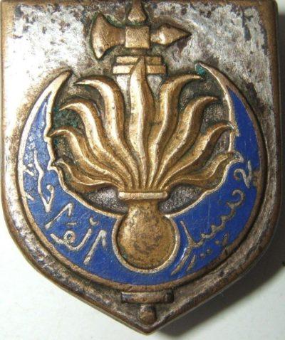 Знаки легиона ведомственной жандармерии Французского Алжира.