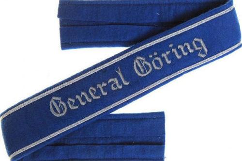 Манжетная лента полка «Генерал Геринг».