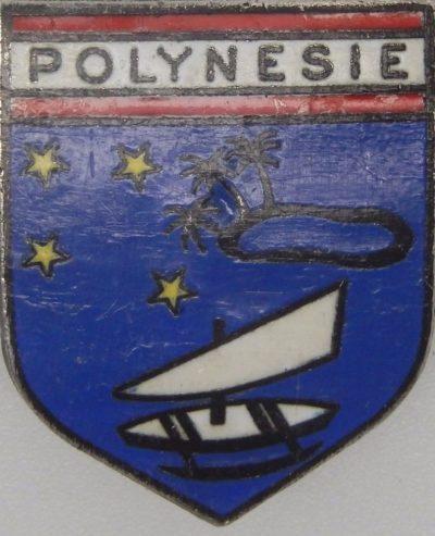 Знак легиона ведомственной жандармерии Французской Полинезии.