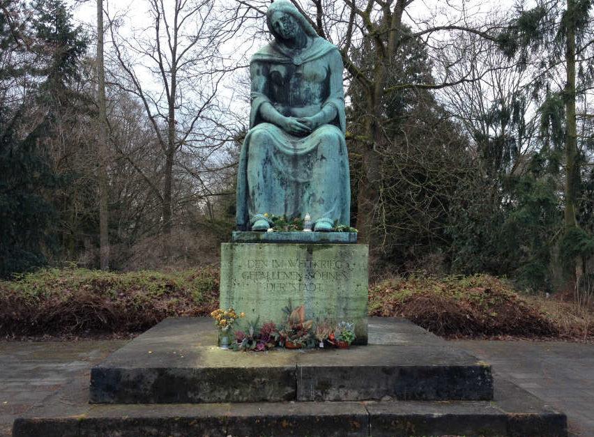 г. Нюрнберг. Военный мемориал «Сыны города» в честь погибших во время обеих мировых войн.