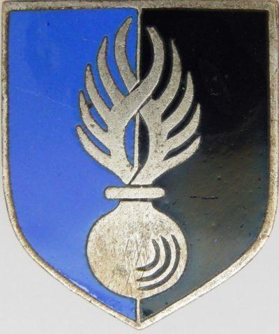 Знак вспомогательных учебных курсов жандармерии.