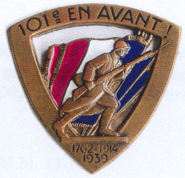 Знаки 101-го пехотного полка.