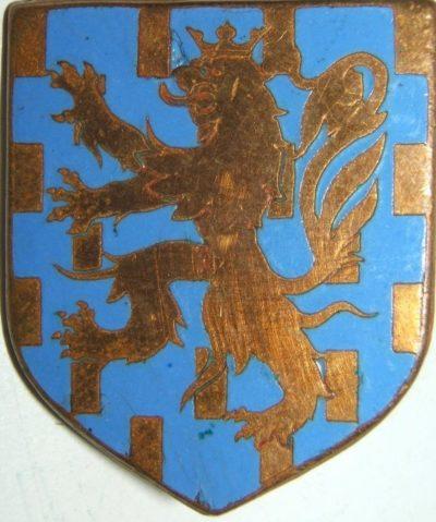 Знак дивизиона жандармерии Франш-Конте.