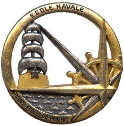 Знак кадетов училищ ВМФ.