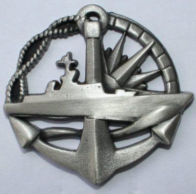 Знак моряка надводного корабля.
