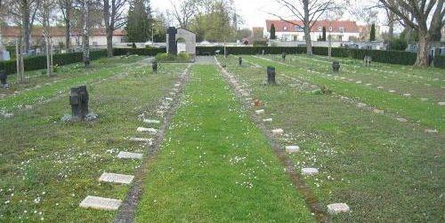 г. Регенсбург. Кладбище погибших солдат союзников.
