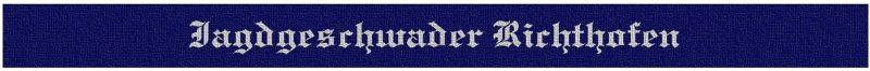 Манжетная лента 2-й истребительной эскадры «Рихтгофен».
