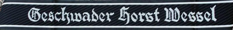 Манжетная лента 6-й истребительной эскадры «Horst Wessel».