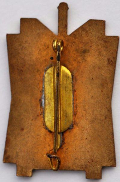 Аверс и реверс знака 106-го пехотного полка.