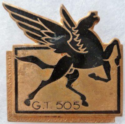 Знак 505-й транспортной группы.