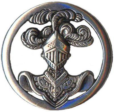 Знак бронетанковых войск.