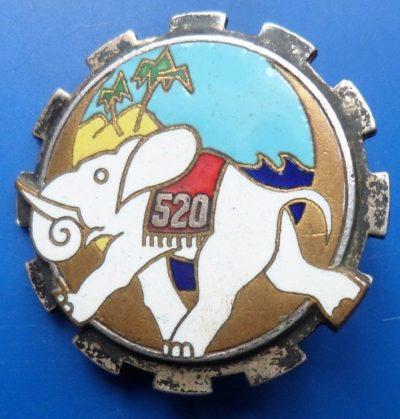 Знак 520-й транспортной группы.