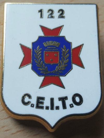 Знаки 122-го пехотного полка.