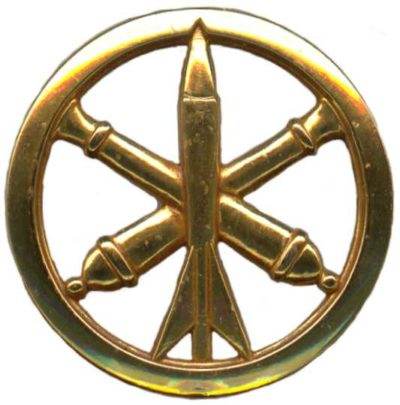Знак артиллерийских подразделений и ПВО.