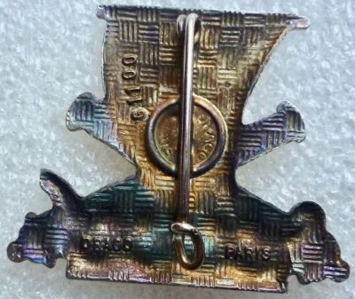 Аверс и реверс знака 34-го артиллерийского полка.