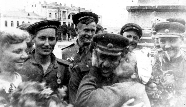 День Победы. Май 1945 г.