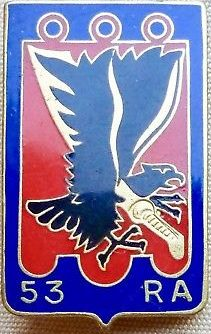 Знак 53-го артиллерийского полка.