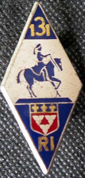 Знак 131-го пехотного полка.