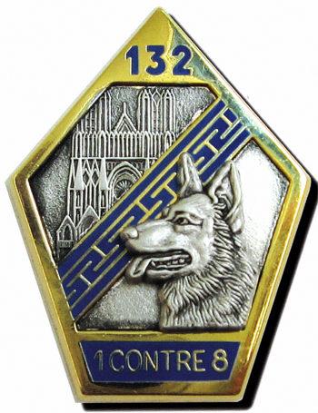 Знаки 132-го пехотного полка.