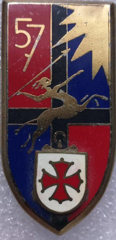 Знак 57-го артиллерийского полка.