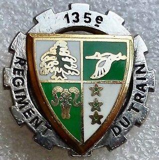 Знак 135-го пехотного полка.