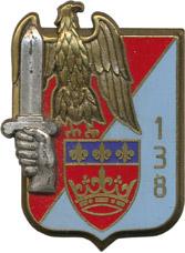 Знак 138-го пехотного полка.