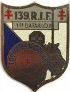 Знак 139-го пехотного полка.