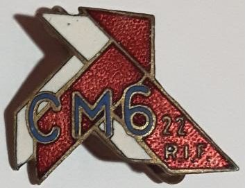Знак 22-го стрелкового полка.