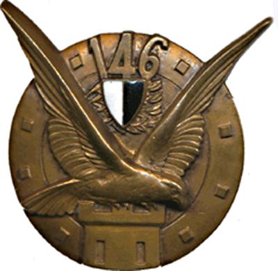 Знаки 146-го пехотного полка.