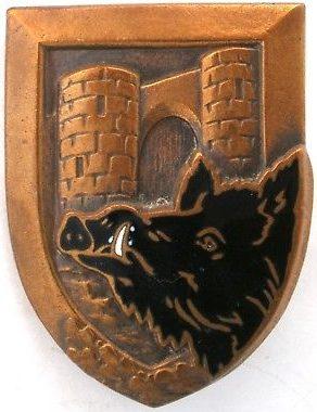 Знак 147-го пехотного полка.