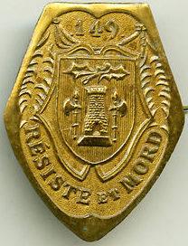 Знак 149-го пехотного полка.