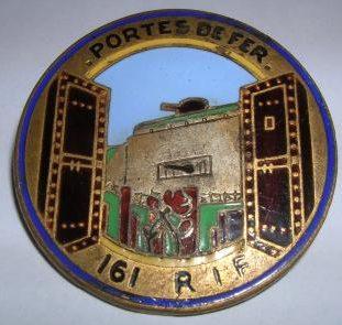 Знак 161-го пехотного полка.
